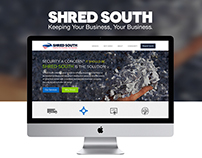 Shred South Website Design