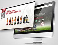 Hasseröder Website Relaunch 2013