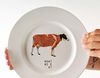 What we eat plates
