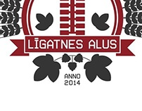 LIGATNES ALUS (CRAFT BEER) LOGOTYPE AND PACKAGING
