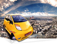 Tata Nano - Photo Illustrations
