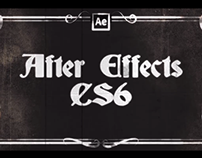 Introducing - Adobe's After Effect!