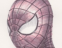 Ballpoint Pen Spiderman
