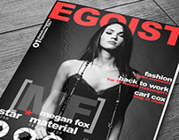 Free Magazine Cover Mockup reup