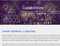 Sarchem Labs - Web Design & Development
