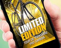 Tour de Yorkshire Bike Launch