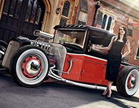Hot Rod | CGI, Photography & Retouching