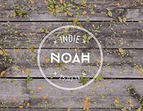 INDIE NOAH | Cat nameplate