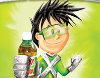 Mascotes refrigerante Xereta