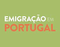 """Infographics: """"Emigração em Portugal"""""""