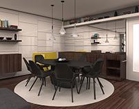 livingroom & diningroom