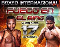 Fuego en el Ring, Poster