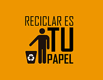 Reciclar es tu papel