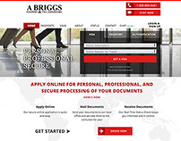 A Briggs Passport & Visa Expeditors Website Redesign