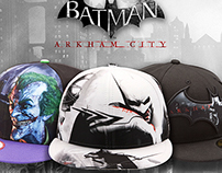 BATMAN ARKHAM CITY CAP COLLECTION
