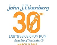 John J. Eikenberg Fun Run Logos