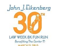 John J. Eikenberg Fun Run Logos