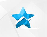 Star-Advertising Logo re-branding