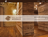 Bois naturel WOODCO - website