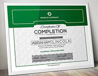 Simple Multipurpose Certificate GD010