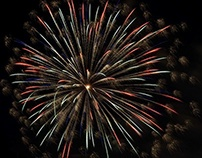 Fireworks over the years