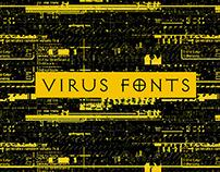 - VIRUS F•NTS / Jonathan Barnbrook -