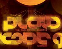plaid+kode9 poster