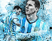 ESPN | 2014 FIFA World Cup Artwork
