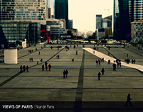 VIEWS OF PARIS / Vue de Paris