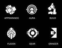 Warframe Category Icons