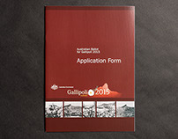 Gallipoli Application Form