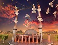 Ramadan main ident (Aaj News)