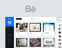 Behance Dashboard UI