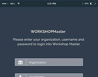WorkShop Master Mobil App