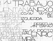 Enric Miralles Font. Composition