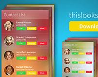 Freebie PSD: App Mockup