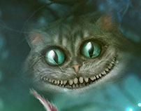 The Cheshire Cat. A good book keeps you entertained.