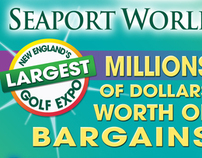 GOLF EXPO BOSTON PRINT ADVERTISING