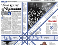 Dossier about Ramadan (Double page)