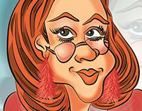 Caricatura - Caricature - Digital - Historieta