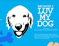 Company Branding  Because I Luv My Dog