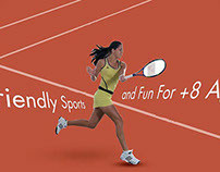 Tennis flayer designs for D-Hotel Maris
