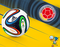 Wallpapers Colombia - Mundial FIFA 2014
