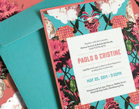 Wedding Invite for Paolo & Cristine