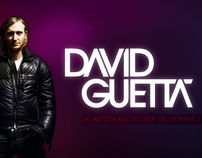 DAVID GUETTA //  VIDEO PRESENTATION