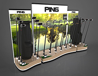 PING Golf Club POP Display