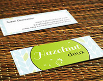 Business Cards for Hazelnut Deux