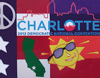 COMMISSION: 2012 Political Convention Button