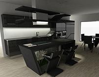 """""""MINIMAL LEAF"""" la cucina intelligente_ 2013"""