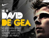 Nike Football - David De Gea Concept